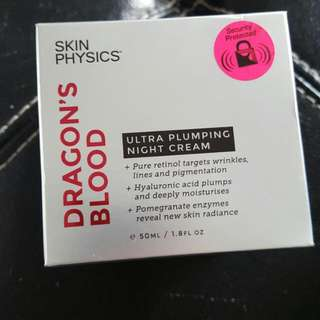 Dragons Blood Plumping Night Cream