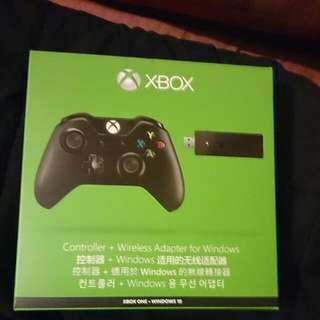 Xbox One Controller + Wireless Adapter For Windows (Xbox One - Windows 10)