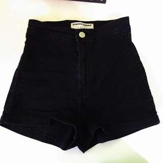 AMERICAN APPAREL Easy Jean Shorts