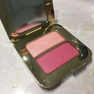 TOM FORD Sheer Cheek Duo in Bicoastal blush highlighter compact blusher Makeup Cosmetics Palette