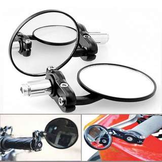 Cafe Racer Round Side Mirrors