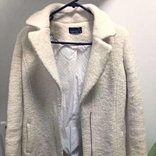 Oversized White Coat
