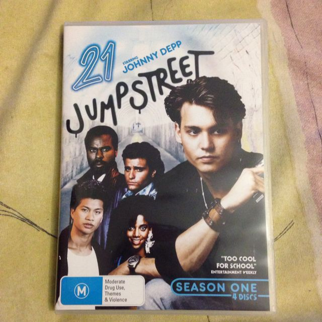 21 Jump street Season 1 DVD Boxset
