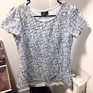 Fitted Dotti Top