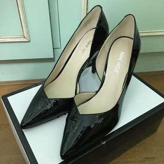 NINE WEST黑色高跟鞋