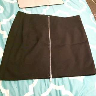 Mango Black Skirt Size 40