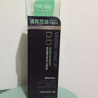 DR.WU零毛孔控油DD霜(含運)