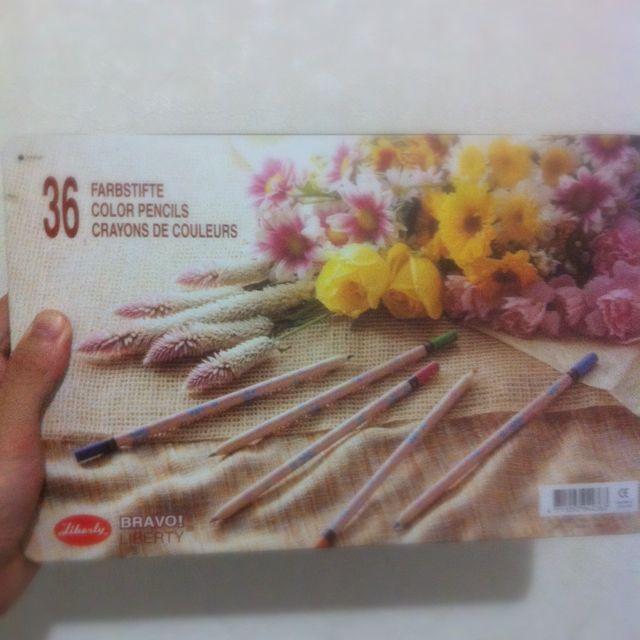 [出價]利百代36色 色鉛筆