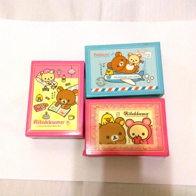 拉拉熊拼圖 99片(3盒)