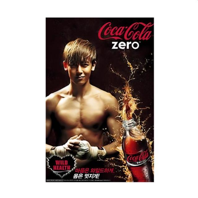 可口可樂 韓國版 尼坤絕版海報