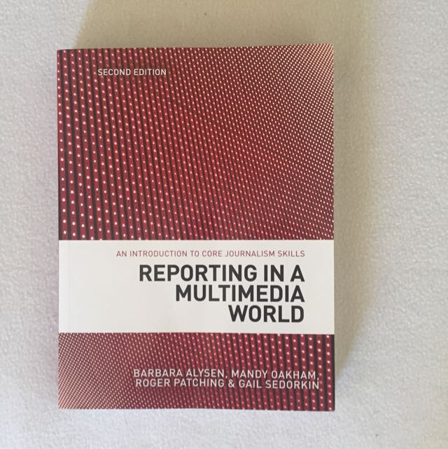 Brand New: Reporting In A Multimedia World