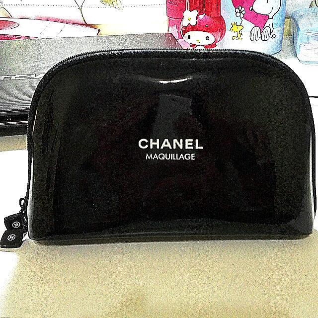 Chanel香奈兒專櫃正品贈品高質感化妝包