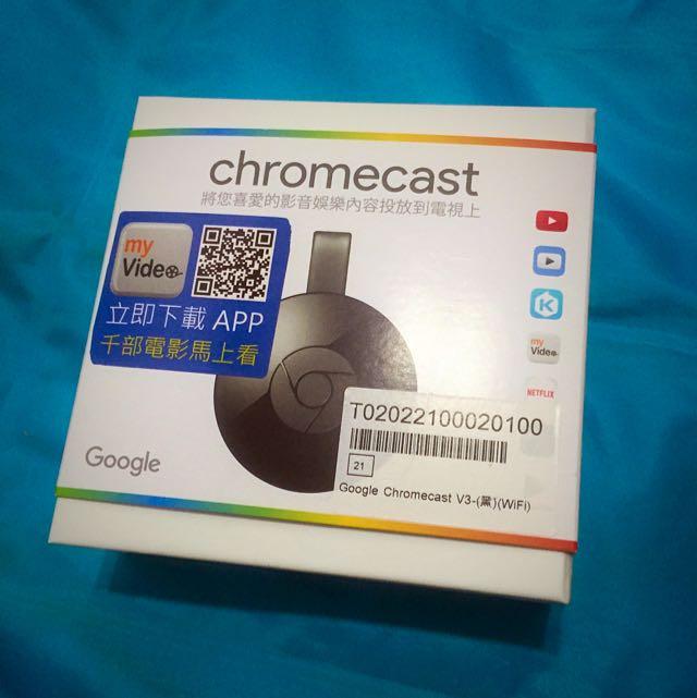 Chromecast 2 全新未拆