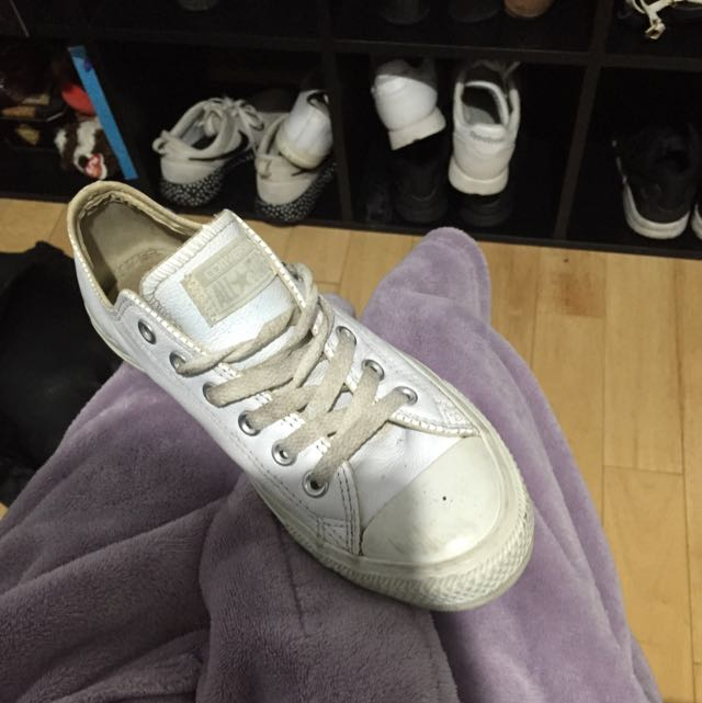 Converse All Stars *white Leather