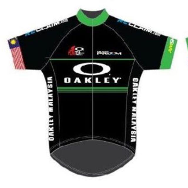 Cycling Jersey Small (OAKLEY Cycling Tour Malaysia 2016 JB ) baac72214