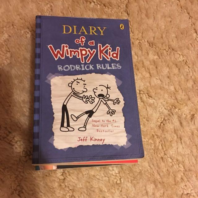 Diary Of A Wimpy Kid Rodrigo Rules By Jeff Kiney