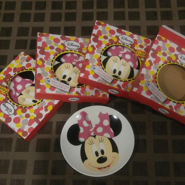 【全新】Disney 迪士尼系列點心盤-米奇 米妮
