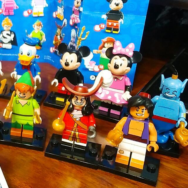 Disney Lego 公仔