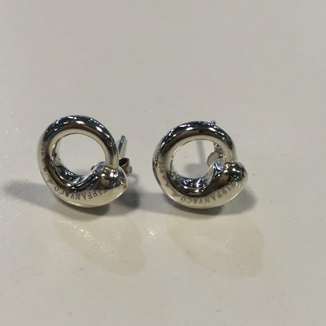 *** Replica Tiffany & Co Elsa Peretti® Eternal Circle earrings