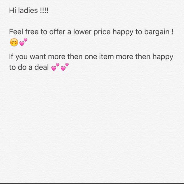 Feel Free To Make An Offer On Any Items 😊