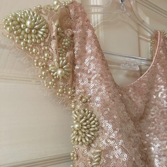 Floor Length Jadore Sequin Gown