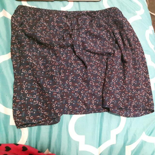 Floral French Brand Skirt Size L