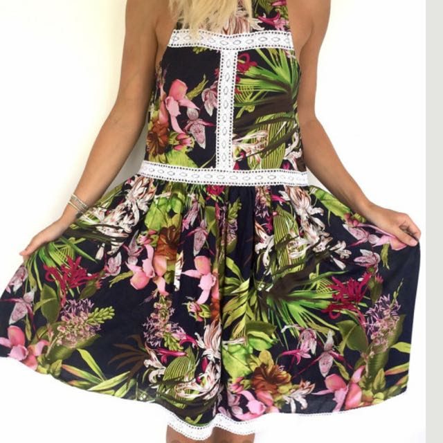 Floral Summer Dress Size 8