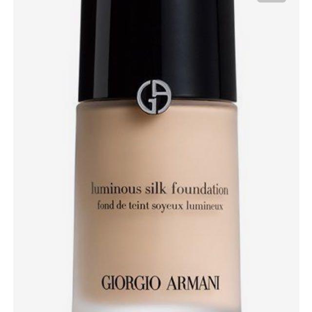 Georgio Armani Silk Luminous Foundation