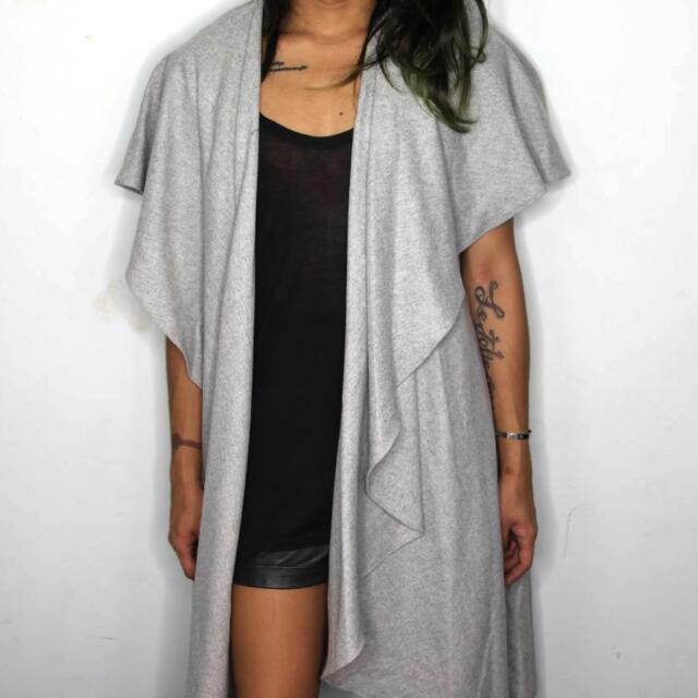 Grey Maxi Outwear