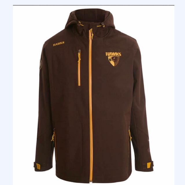 Hawthorn Hawks Men's Premium Softshell Jacket in 5XL (Super SIZE)