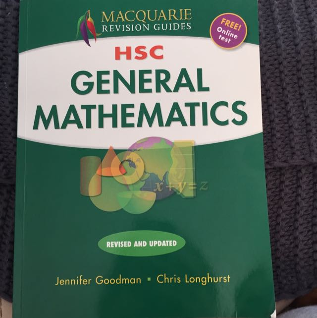 HSC General Maths Macquarie Revision Guide