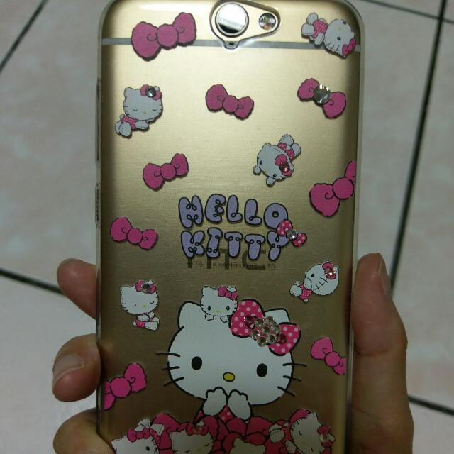 HTC A9 Hello Kitty 手機殼 軟殼 水鑽