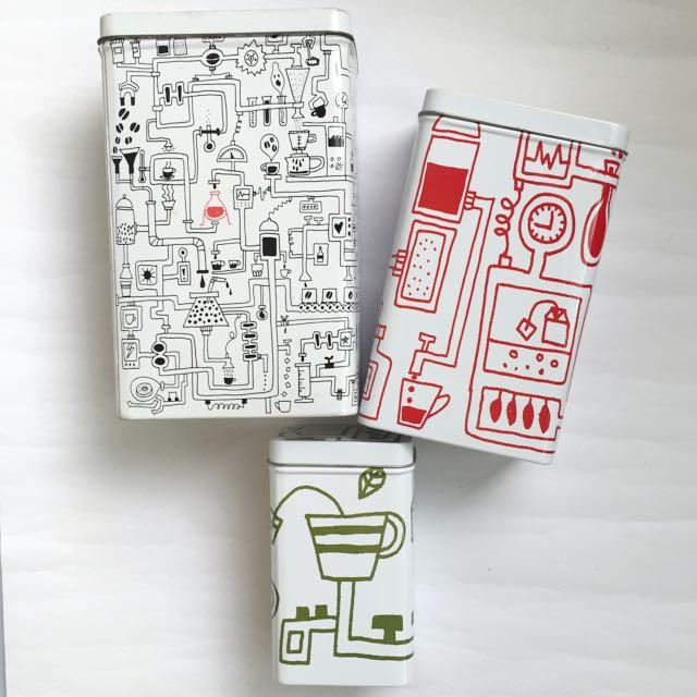 IKEA 收納鐵罐