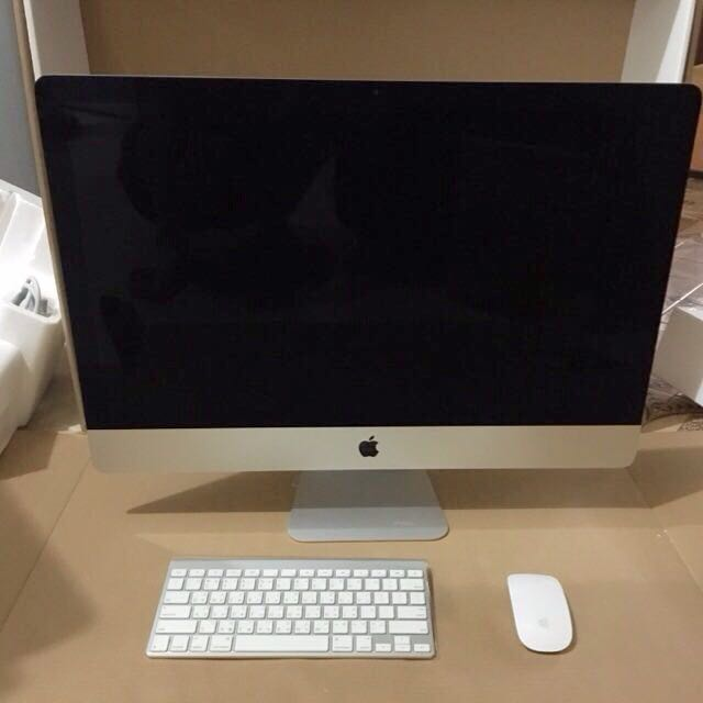 "Apple iMac 27""  3.2GHz/8GB/1TB 全新僅拆封試機 2015年機"