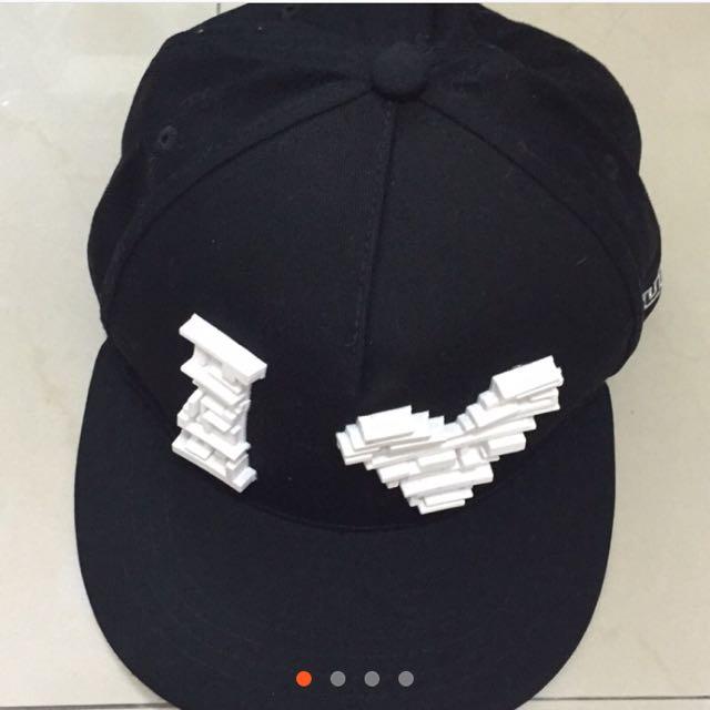 《轉賣》韓款帽子/I❤️U/最後大特價:100元