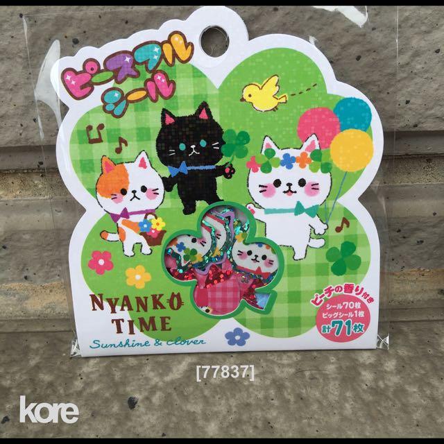 ㊣日本進口MIND WAVE - FS貼紙包 [77837]NyankoTime  一1包 50元