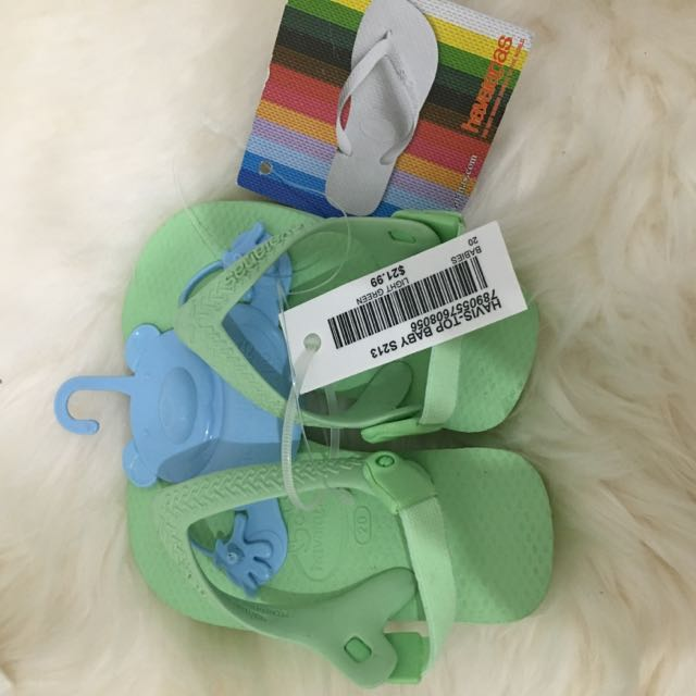 Mint Green Havaiana For Baby