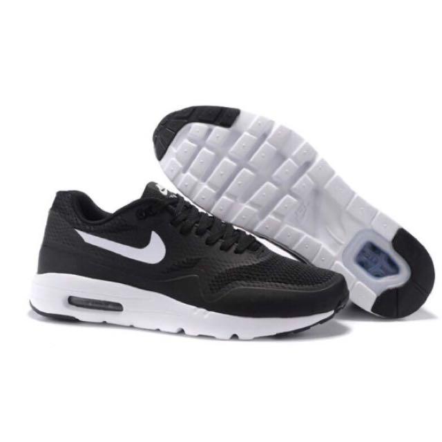 Nike Air Max 1 Ultra Essential 87 跑步鞋 氣墊鞋 黑白 男鞋款