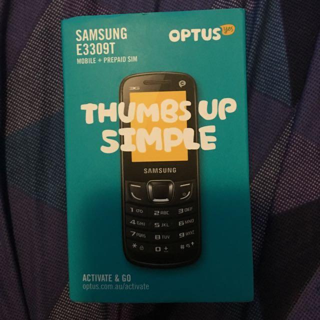 Optus Prepaid Mobile