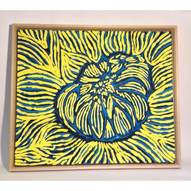 Original Flower Painting - By Artist