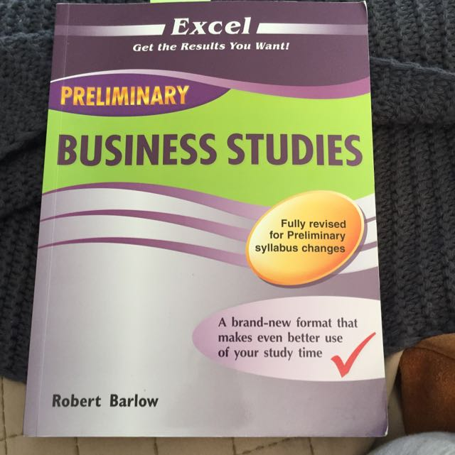 Preliminary Business Studies Excel Textbook