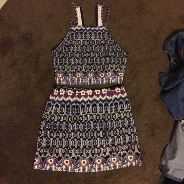 Quirky Circus Skirt And Top