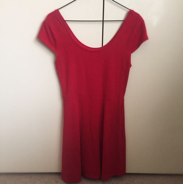 Red Dress (size 10 or 12)