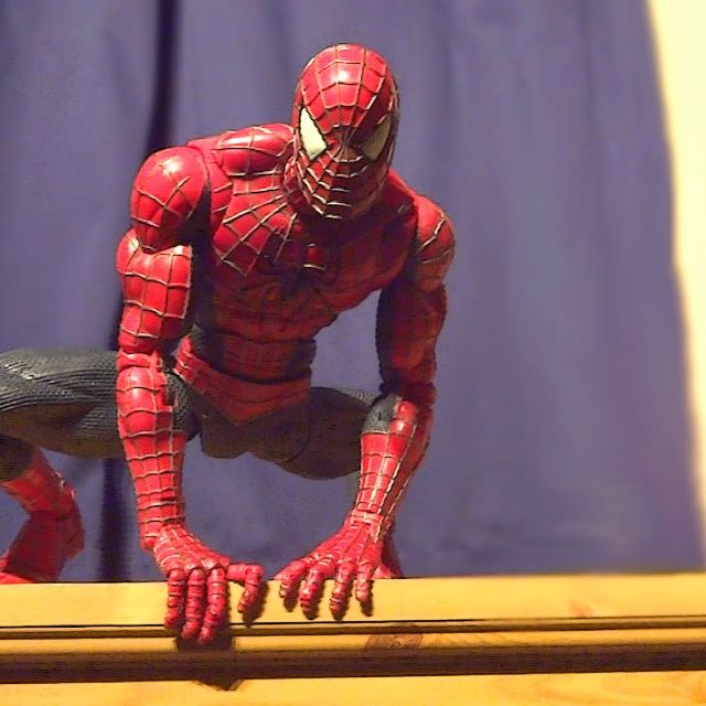 Spiderman 64 points of articulation