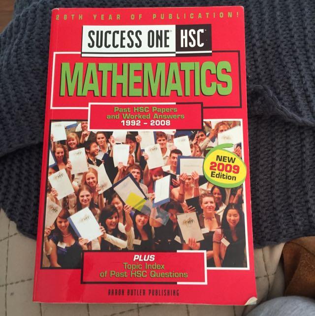 Success One HSC Mathematics Excel Textbook