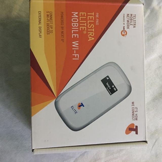 Telstra Wifi Hotspot Modem
