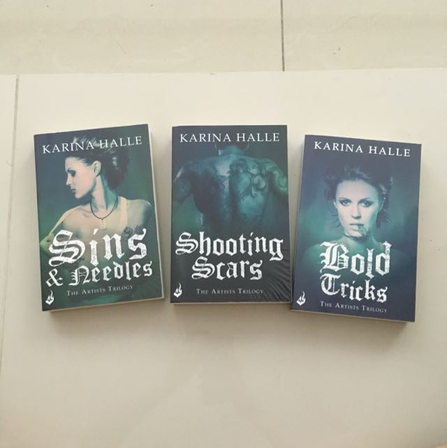 *FREE POSTAGE* The Artists Trilogy