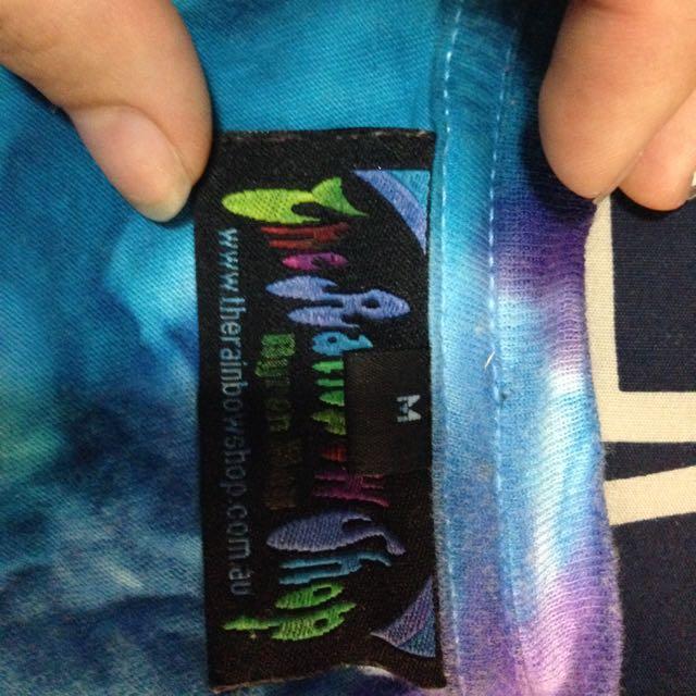 Tie Dye Shirt The Rainbow Shop