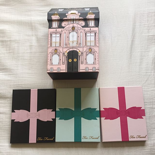 Too Faced Limited Edition Gifts Eyeshadow Palettes