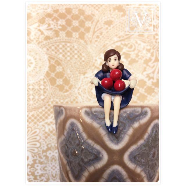 V|T ☆ 日本奇譚  Blendy 微糖杯緣 咖啡 杯緣子 ☆